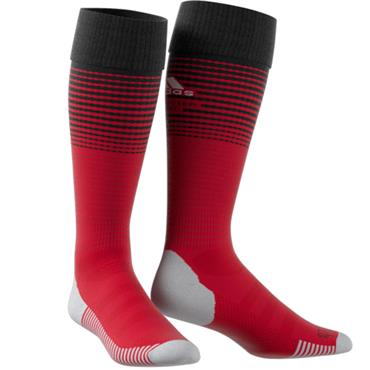 MAN UNITED 2018 HOME SOCKS RED - RED
