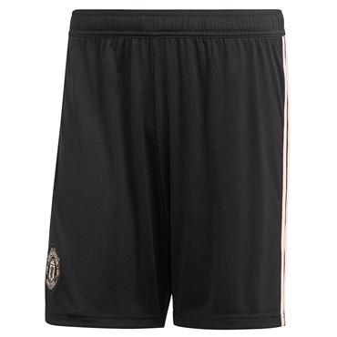 ADIDAS ADULTS MANUNITED AWAY SHORTS18/19 - BLACK/PINK