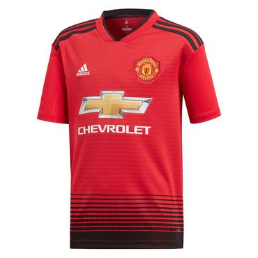 KIDS MAN UNITED 2018/19 HOME JERSEY - RED