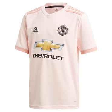 ADIDAS KIDS MAN UNITED AWAY JERSEY 18/19 - PINK