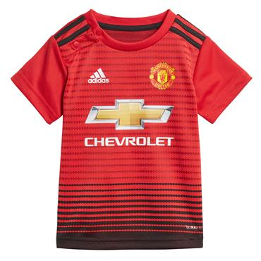BABY MAN UNITED 2018/19 INFANT KIT - RED/BLACK