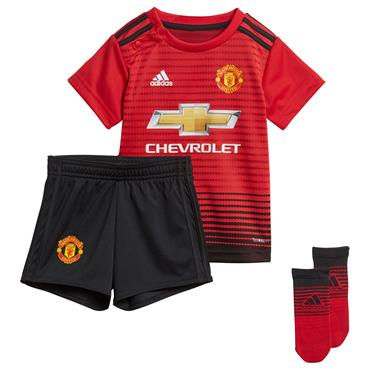 KIDS MAN UNITED 2018/19 MINI KIT - RED
