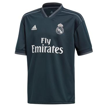 Adidas Kids Real Madrid Home Jersey 2018/19 - Grey
