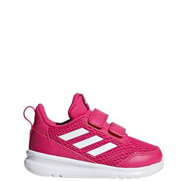 Adidas Infant Girls Alta Run CF Trainers - Pink