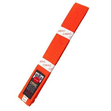 CIMAC KARATE BELT RED - Orange