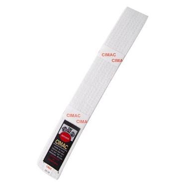 Cimac Karate Belt - WHITE