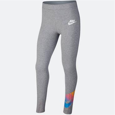 Nike Girls Sportswear Leggings - Grey