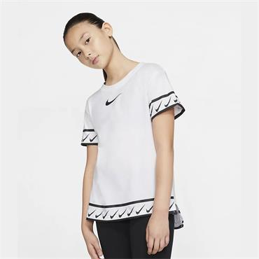 Nike Girls Sportswear T-Shirt - White