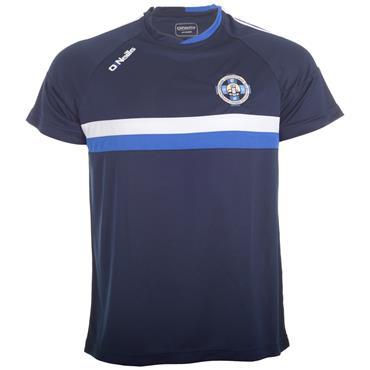 O'Neills Adults Cloughaneely GAA Rick T-Shirt - Marine/Royal