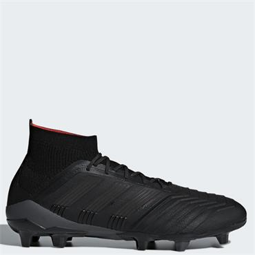 Adidas Adults Predator 18.1 FG Football Boots - BLACK