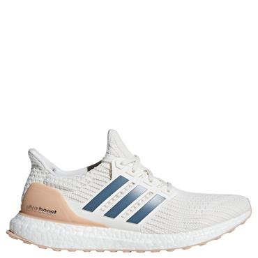 ADIDAS MENS ULTRABOOST SHOES - WHITE/PINK