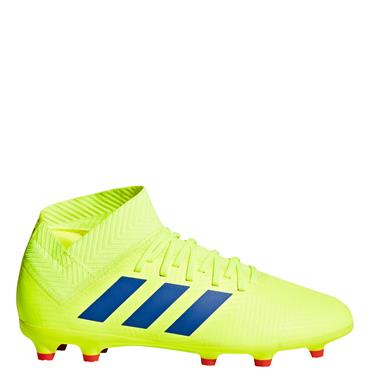 ADIDAS KIDS NEMEZIZ 18.3 FG BOOT - YELLOW