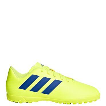 Adidas Kids Nemeziz 18.4 Astro Turf Boots - Yellow