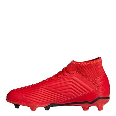 KIDS PREDATOR 19.3FG FOOTBALL BOOT - RED