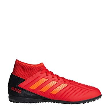 ADIDAS KIDS PREDATOR 19.3 ASTRO TURF - RED/BLACK