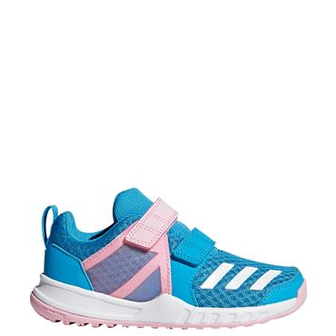 Adidas Kids Fortagym CF Trainers - Blue/Pink