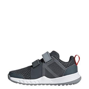 ADIDAS BOYS FORTAGYM TRAINERS - GREY/ORANGE