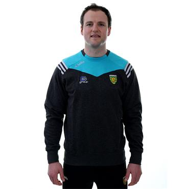 O'Neills Donegal GAA Colorado 98 Crew Sweater - Black