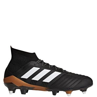 ADULTS PREDATOR 18.1 SG FOOTBALL BOOTS - BLACK