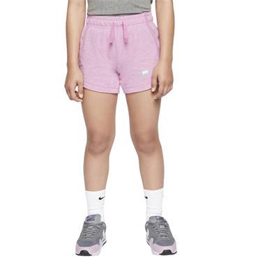 Nike Girls Jersey Shorts - Pink