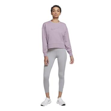 Nike Womens DriFit Get Fit Swoosh Crew - Pink