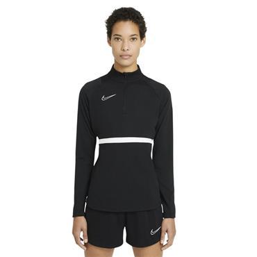 Nike Womens Dri-FIT Academy Drill Top - BLACK