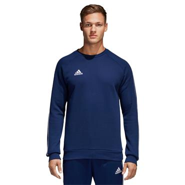 ADIDAS MENS CORE 18 SWEAT TOP - NAVY