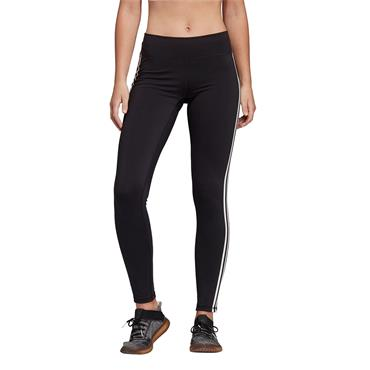 Adidas Womens Believe This 3-Stripes Leggings - BLACK