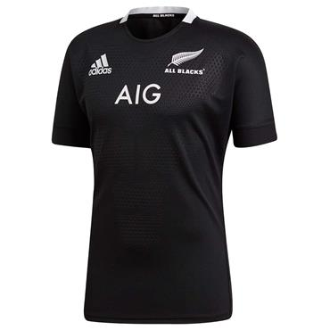 Adidas Mens All Blacks Home Jersey - BLACK