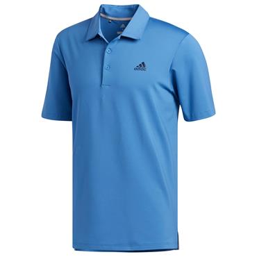 MENS GOLF ULTIMATE 365 SOLD POLO SHIRT - BLUE