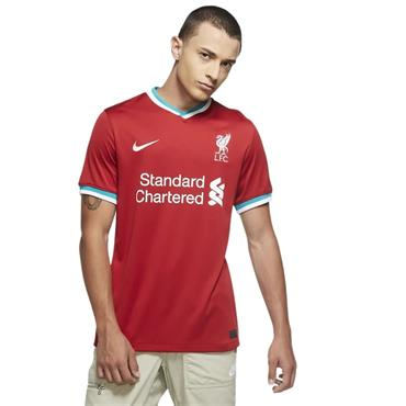 Nike Adults Liverpool 2020/21 Home Jersey - Red