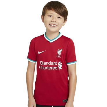 Nike Kids Liverpool 2020/21 Home Jersey - Red