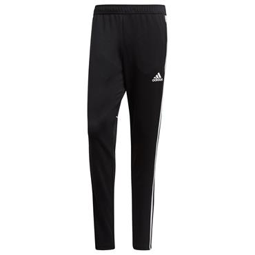 ADIDAS MENS TAPERED FIT TRACKSUIT BOTTOM - BLACK/WHITE