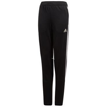 Adidas Kids Tapered Training Pants - Black/White