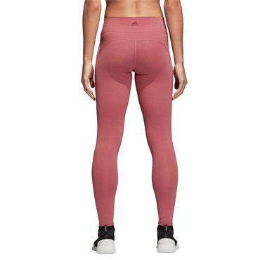 Adids Womens 3 Stripe Leggings - Pink
