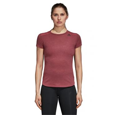 ADIDAS WOMENS PRIME TSHIRT - RED