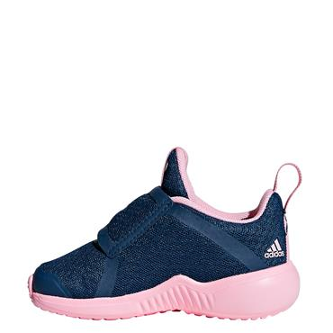 Adidas Infant Girls FortaRun X CF Runners - Navy/Pink