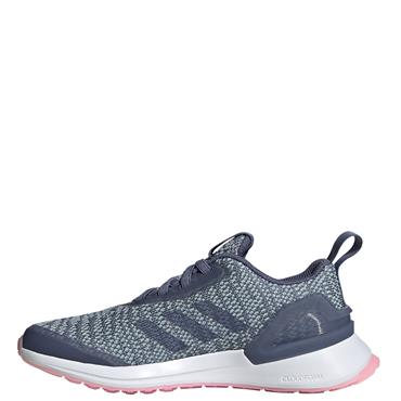 Adidas Girls Rapidarun Runners - Blue/Pink