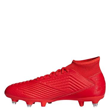 Adidas Adults Predator 19.3 SG Football Boots - Red