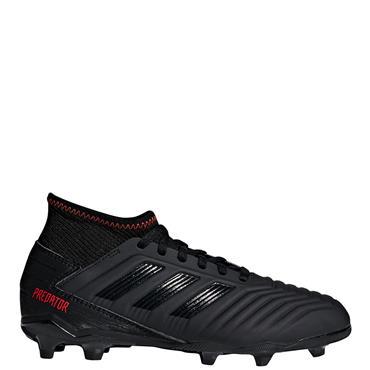 Adidas Kids Predator 19.3 FG Football Boots - Black