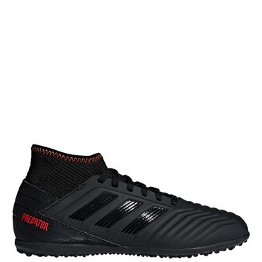 Adidas Kids Predator 19.3 Astro Turf Boot - Black/Orange