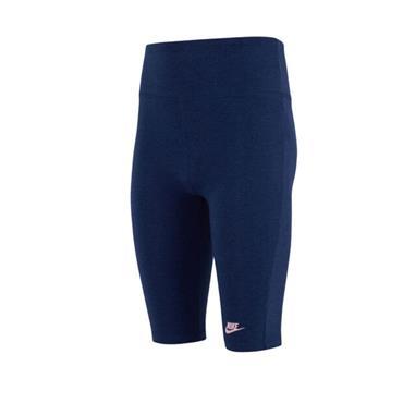 Nike Girls Bike 9 Inch Shorts - Navy