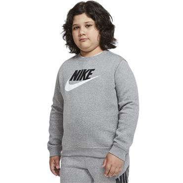 Nike Boys Sports Crewneck Sweater - Grey