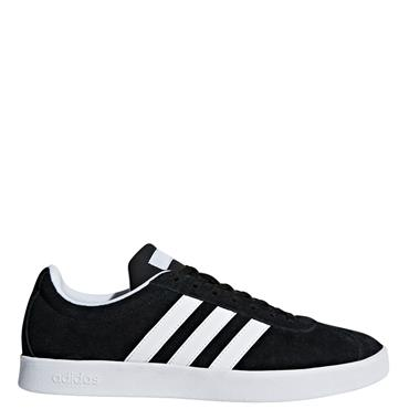 WOMENS TENNIS COURT VL 2.0 SHOE - BLACK/WHITE