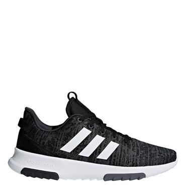 ADIDAS MENS CLOUDFOAM RACER RUNNING SHOE - BLACK