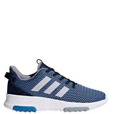 ADIDAS KIDS CLOUDFOAM RACER TRAINER - NAVY/BLUE