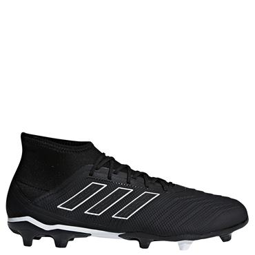 ADULTS PREDATOR 18.2 FG FOOTBALL BOOTS - BLACK