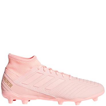 Adidas Adults Predator 18.3 FG Football Boots - Pink