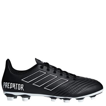 ADULTS PREDATOR 18.4 FxG FOOTBALL BOOTS - BLACK/WHITE