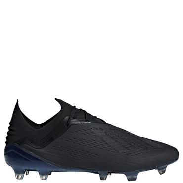 ADULTS X 18.1 FG FOOTBALL BOOTS - BLACK